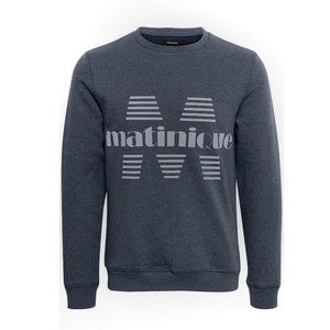 Matinique Drake Grey Sweatshirt Size XXL